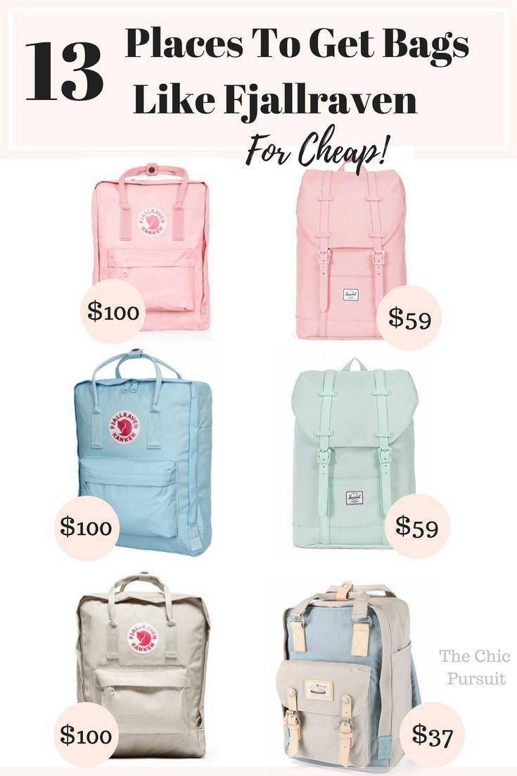 15 Incredible Bags Like Fjallraven Kanken That Are Budget Friendly Fjallraven Kanken Bags Kanken