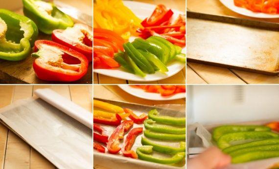 Como congelar pimentão e outros vegetais - dcoracao.com - blog de decoração