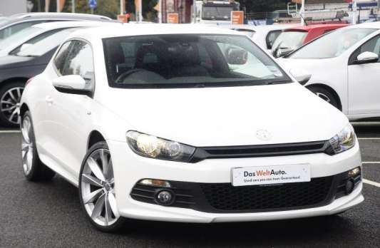 Used 2014 (14 reg) White Volkswagen Scirocco 2.0 TDI 177 R Line 3dr for sale on RAC Cars