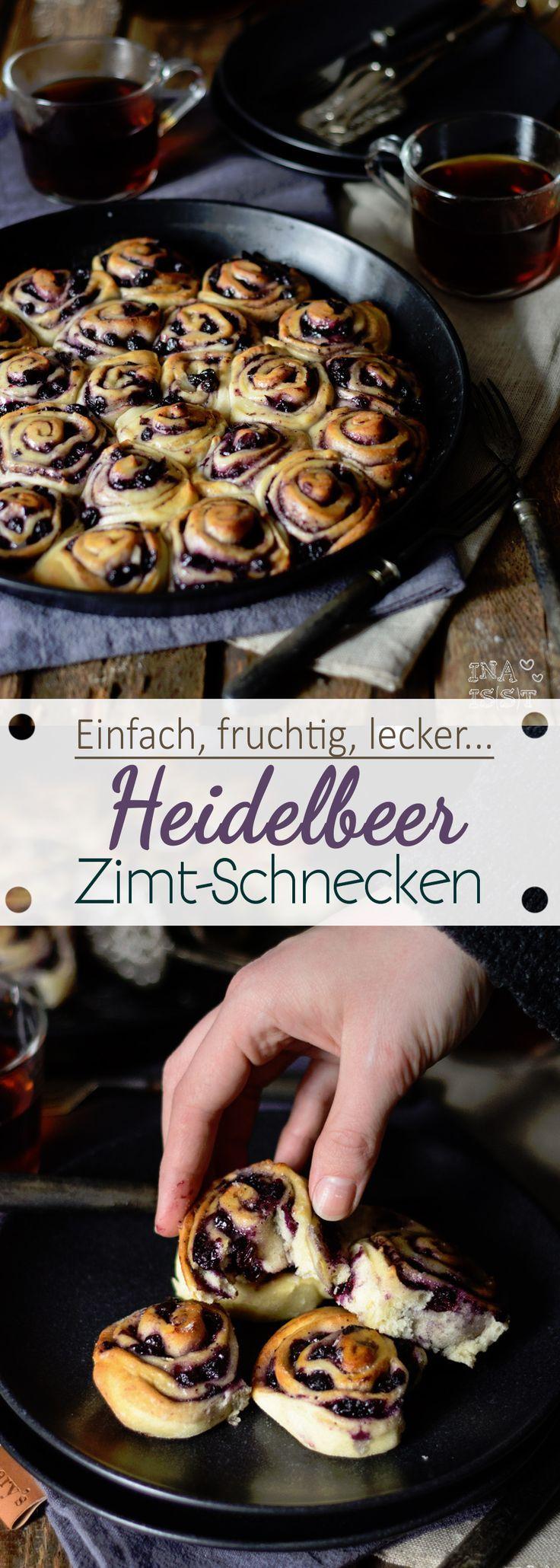 Heidelbeer-Zimtschnecken
