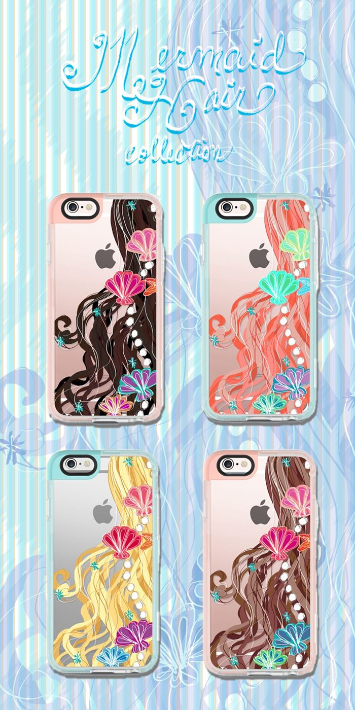 Image gallery mermaid hair - The Mermaid Hair Collection In My Casetify Gallery Just In Time For Summer
