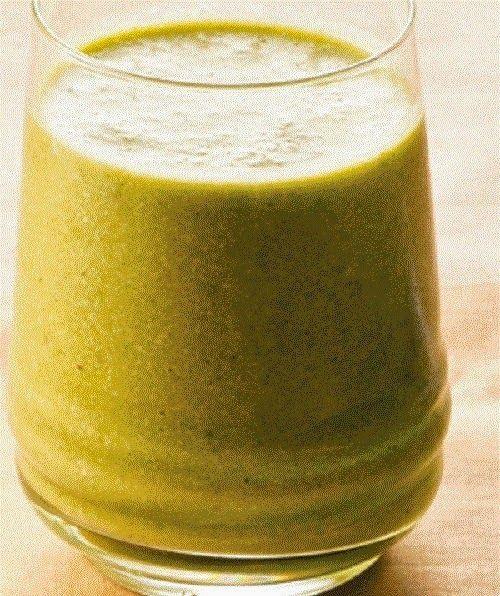 Cura pela Natureza.com.br: Suco funcional com maçã, couve, gengibre e biomassa de banana verde