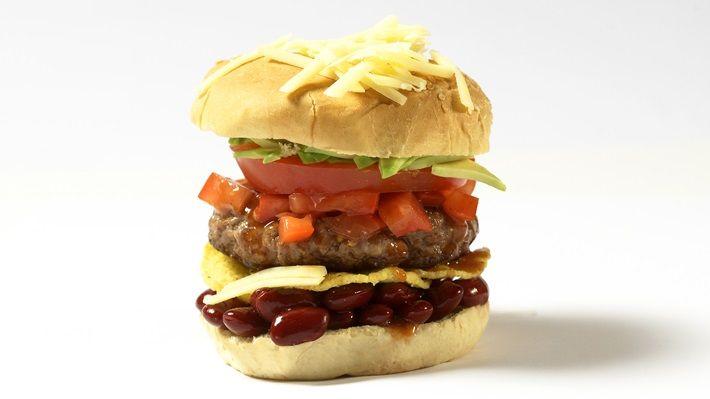 Mexicansk burger - MatPrat