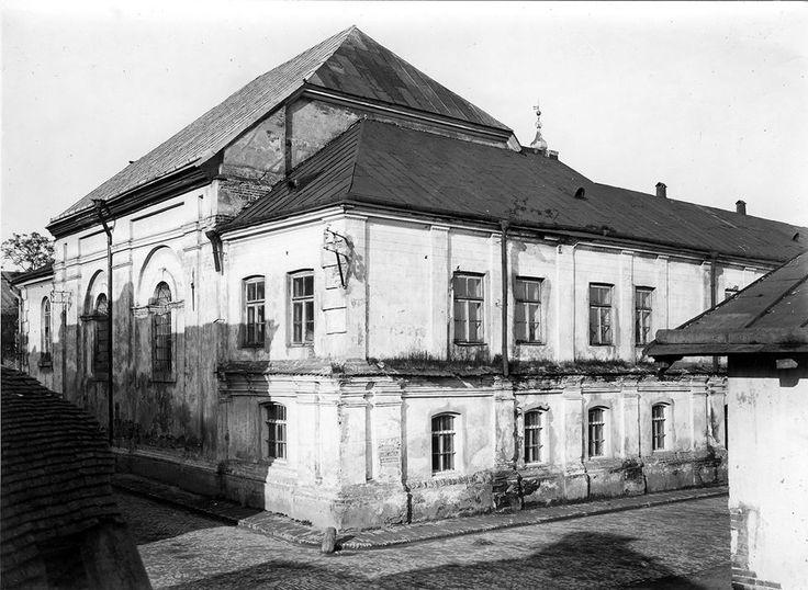 Synagoga zamojska - od  ulicy Zamenhofa