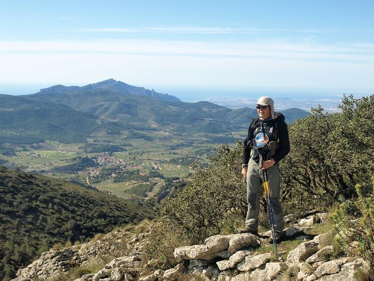 Des-de Els Plans: Alacant, El Cabeço, La Grana i el poble.