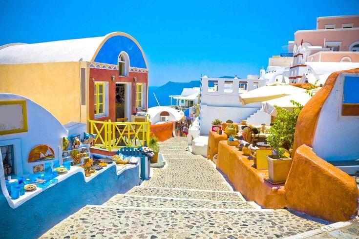 Santorini+Grecia+Imagenes+Para+Fondo+De+Pantalla