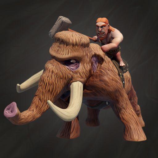 Mammoth Champion is one of the most powerful people. He is in fact stronger than the mammoth itself, so he can easily exercise authority over that furry creature.  Mammoth Champion to jeden z najpotężniejszych ludzi. Jest silniejszy od mamuta, dlatego bez problemu sprawuje władze nad tym futrzanym stworzeniem.