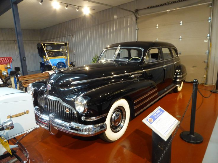 From Cruiseins to Concours — Buick 91F sedan, an upmarket