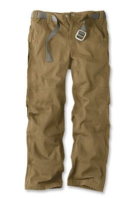 Trailhead Pants  Lasting durability and rugged good looks define these men's cotton canvas pants.