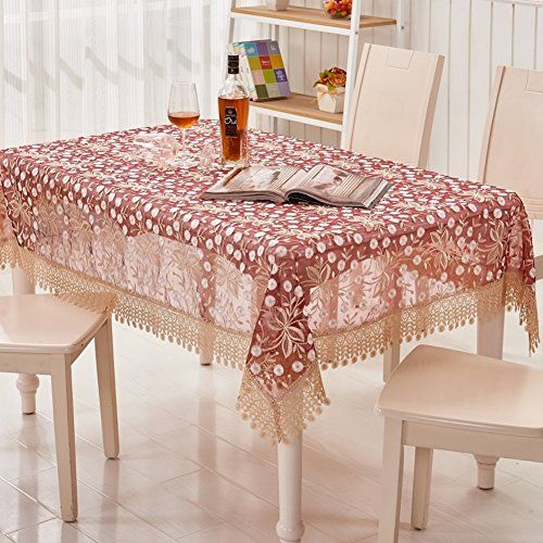 Fabrics Pastoral European Style Tablecloth For Tea Table Round