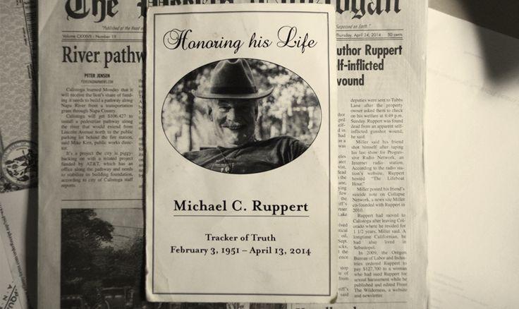 Resultado de imagen de Mike Ruppert webside