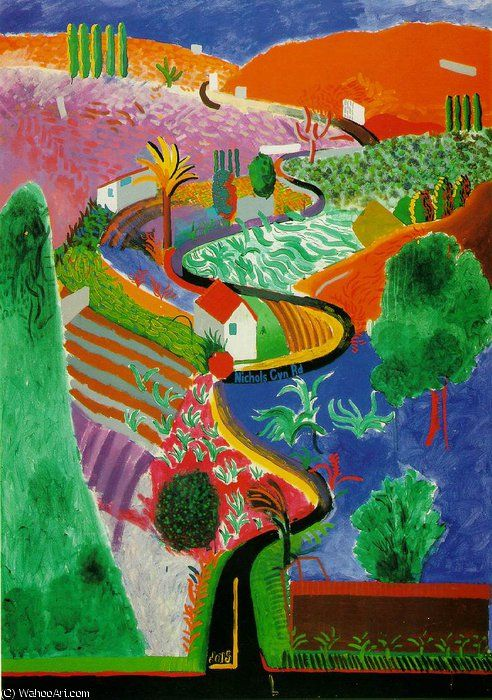 17 best images about david hockney paintings on pinterest for Painting in los angeles