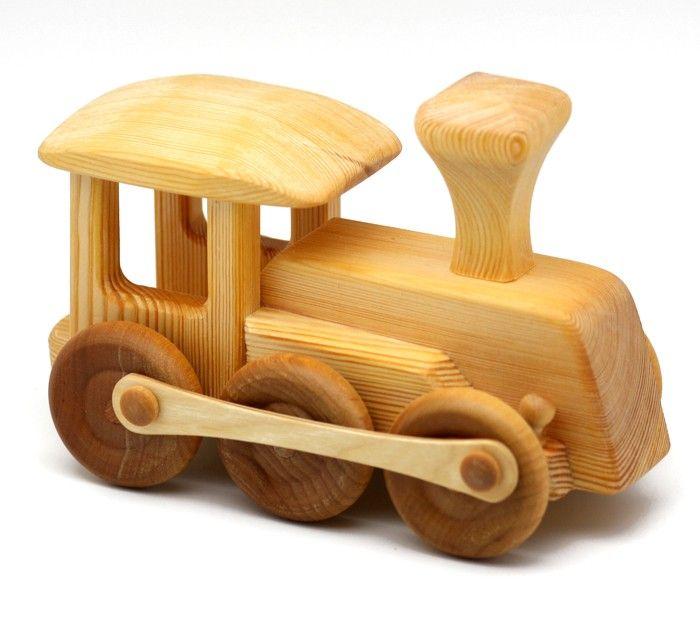 Como hacer un tren de madera - Imagui