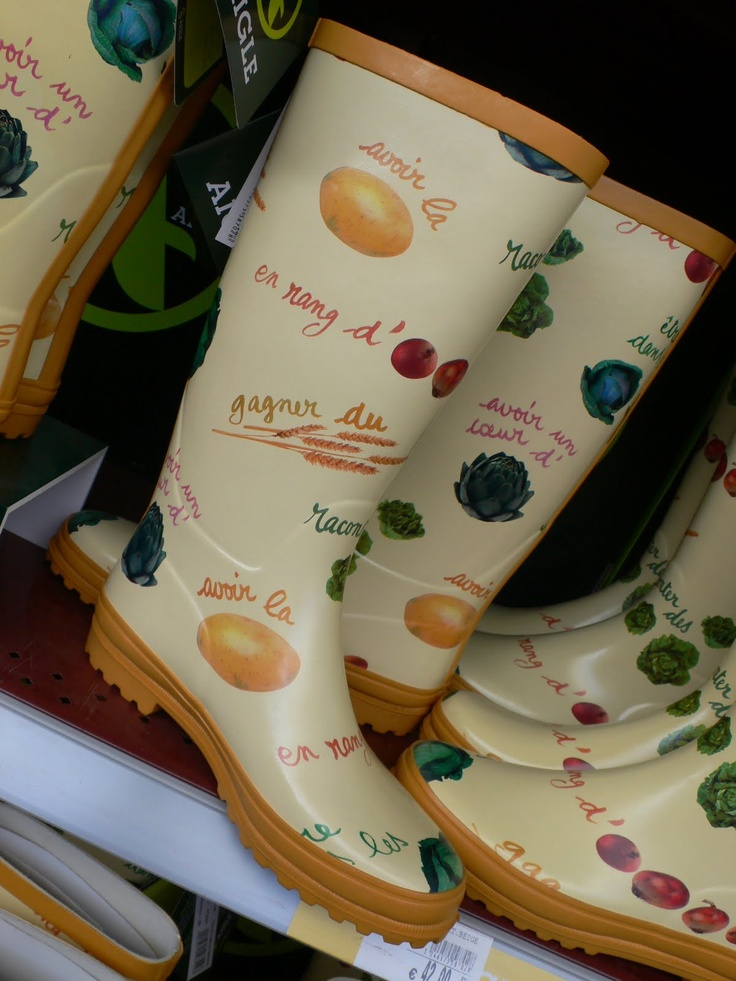 pictures of pretty garden boots - Google Search
