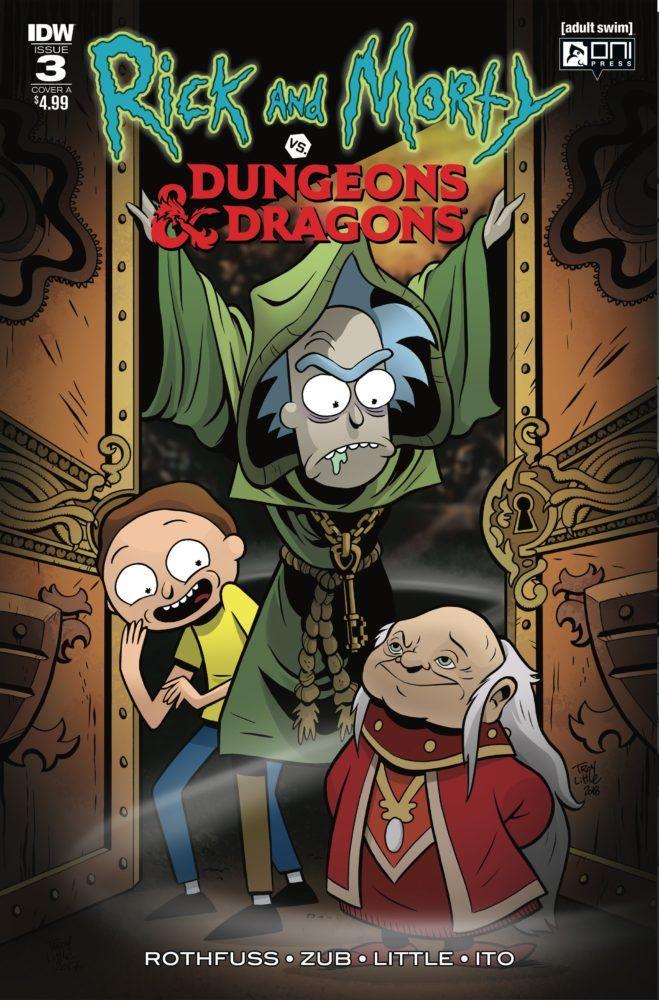 Rick and Morty vs Dungeons /& Dragons d/&d English Version