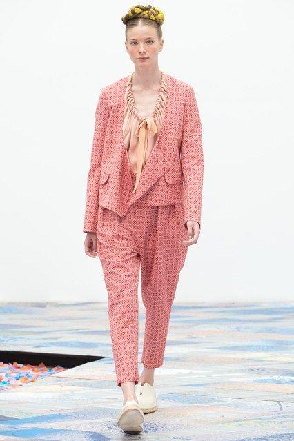 New York Fashion Week, SS '14, Tia Cibani