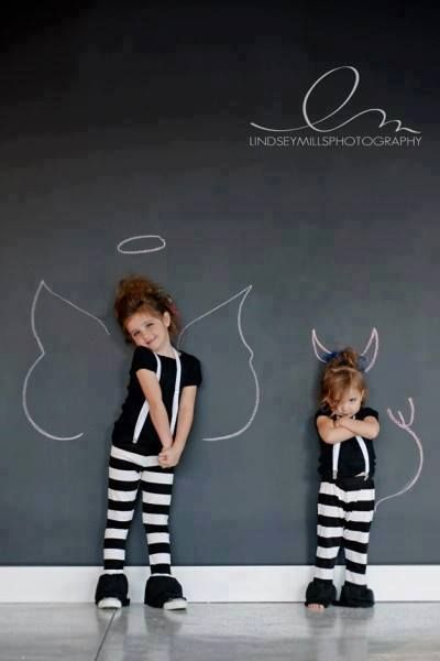 Angel/Devil?? Such cuties