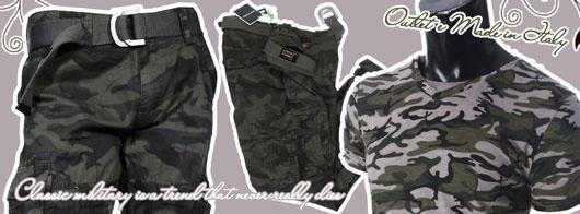Military Style un look che non muore mai. Lo stile militare nell'abbigliamento definisce un punto fermo dell'espressione della moda e una delle tendenze più interpretate e rielaborate dagli stilisti.