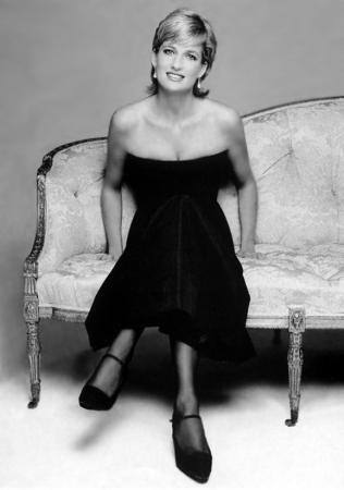 Diana, Princess of Wales (1961–1997), wife of Charles, Prince of Wales. Well known for her fund-raising work for int'l charities, an eminent celebrity of late 20th century.
