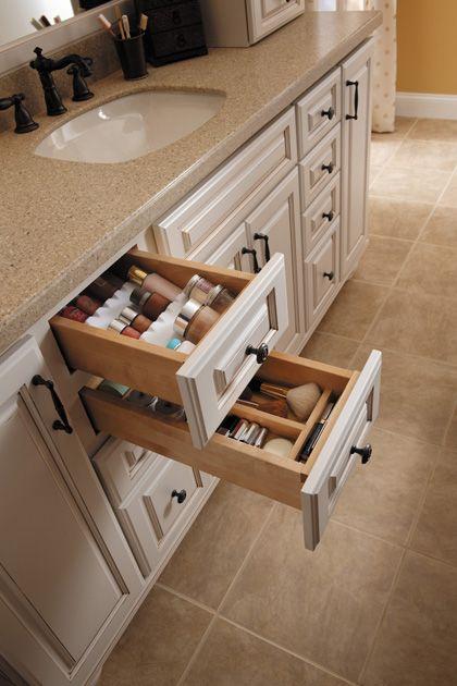 Attractive Drawer Spice Rack And Cutlery Divider Spice Racks And Cutlery Dividers Work  Well All Through The · Custom Bathroom CabinetsCustom BathroomsKitchen ...