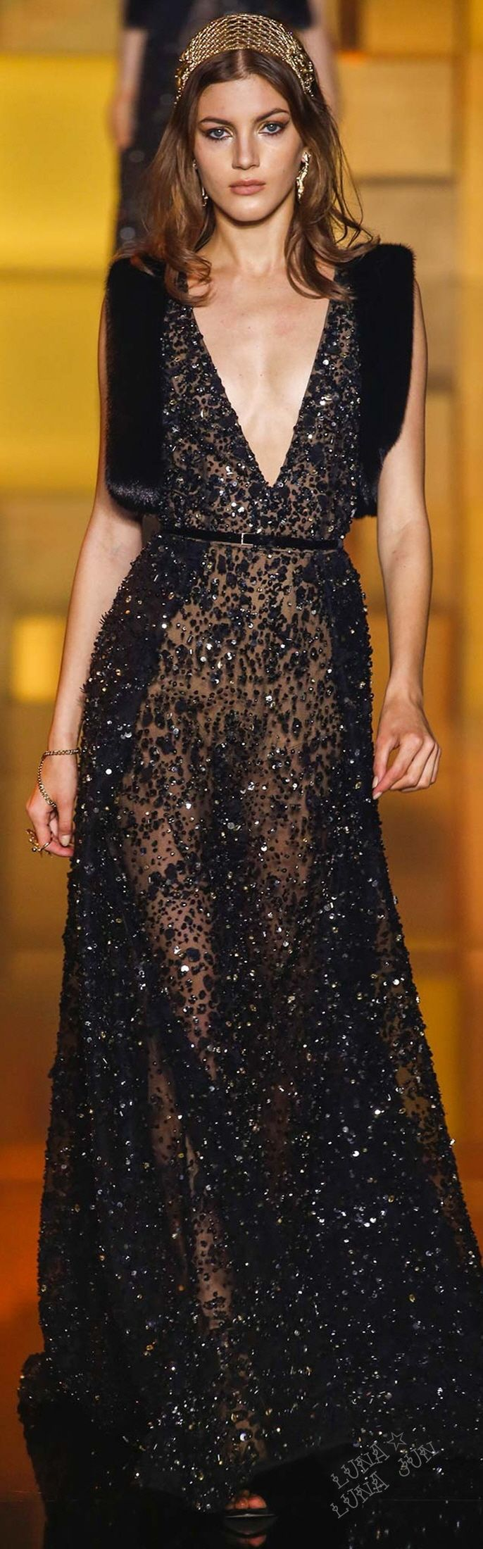 Elie Saab Fall 2015 Couture: