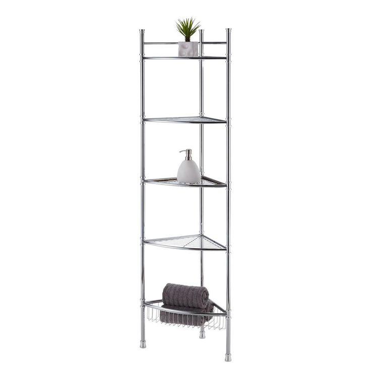 The 25+ Best Bathroom Corner Shelf Ideas On Pinterest | Corner Shelf, Corner  Shelves And Corner Wall Shelves