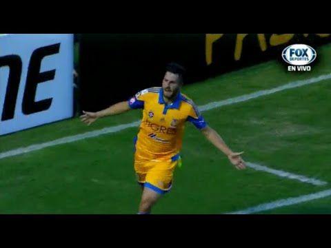 Vidéo but de la tête André-Pierre Gignac Tigres de Monterrey 3-1 Internacional de Porto Alegre - Football Insolite