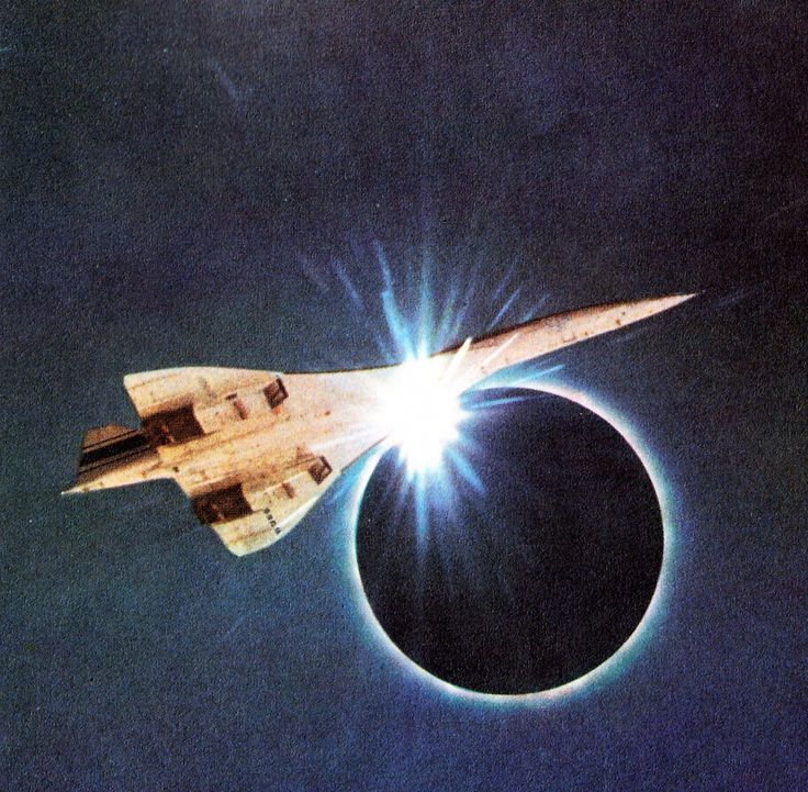 En 1973, un petit groupe d'astronomes embarqua à bord de l'un des premiers prototypes du Concorde pour se lancer à la poursuite d'une éclipse totale à 2300km/h..
