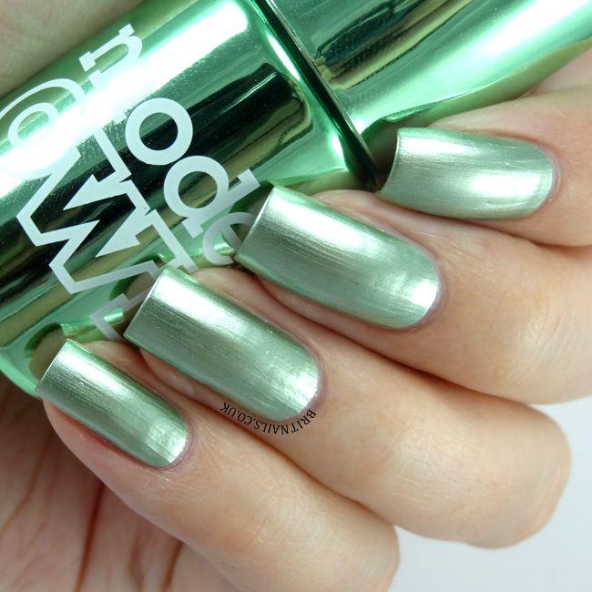 Models Own - Colour Chrome - Chrome Green