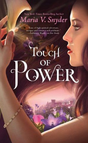JUST finished this last night..... it was SO good!!! Can't wait for the next one!     Touch Of Power - Maria V. Snyder