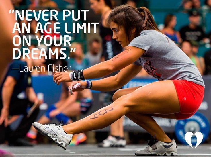 Lauren Fisher of CrossFit Invictus #motivation #inspiration #quote