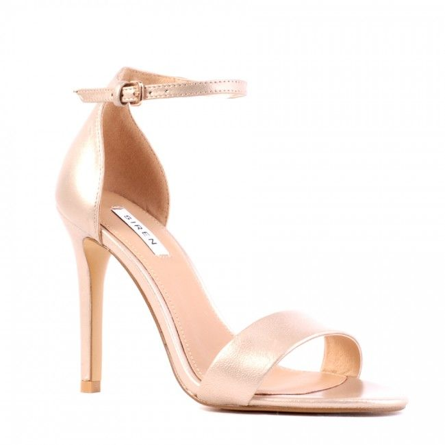 Georgia - Champagne Pearl Leather - Heels - All - Shop All