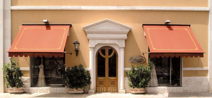 Classique tenda elegante ideale per abbellire ville in for Case stile antico