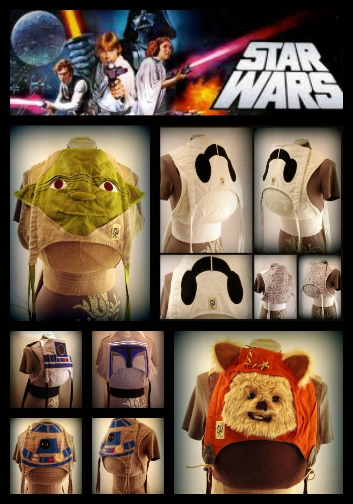 star wars inspired baby carriers. yoda 91c079d34d8