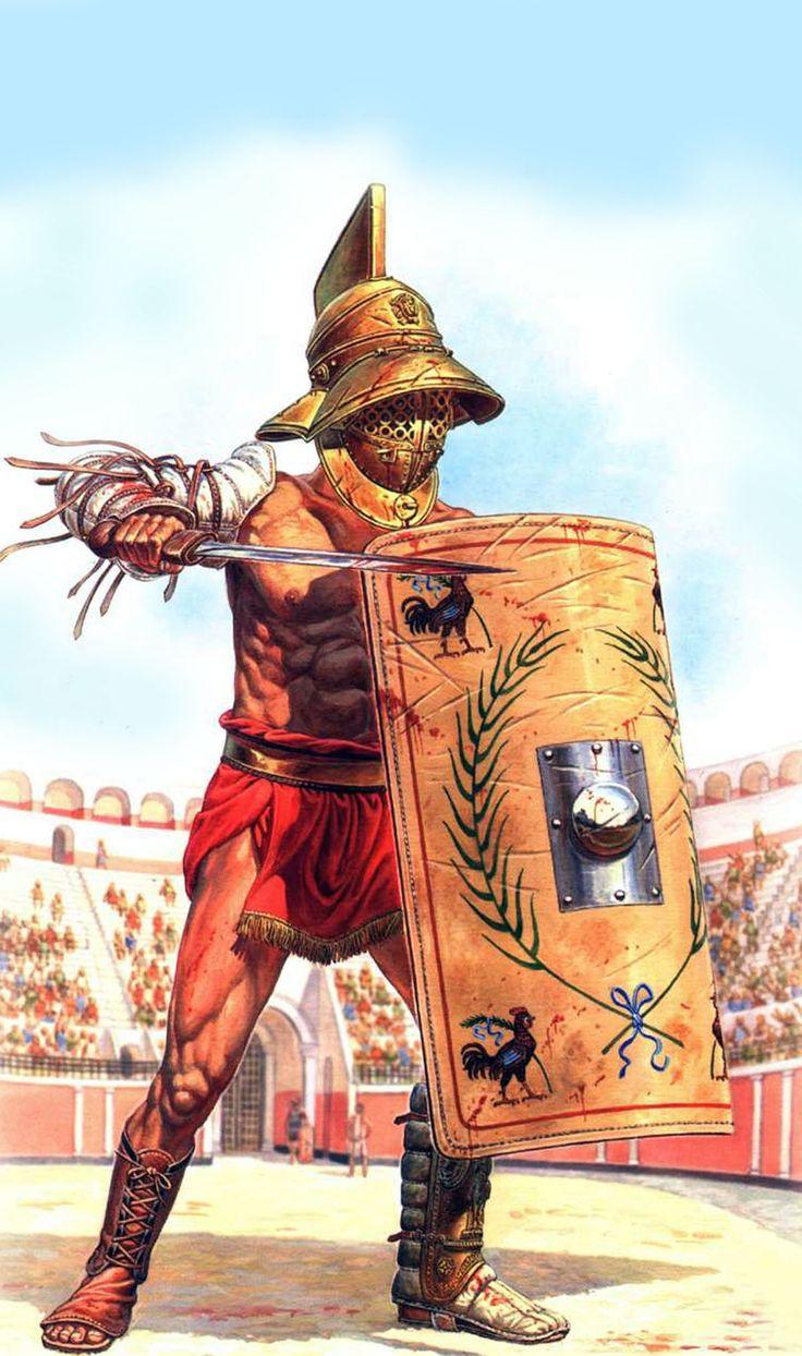 Gladiator in the Colosseum