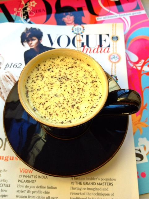 Fighting a cough or cold? Make yourself a homemade remedy: hot milk with…