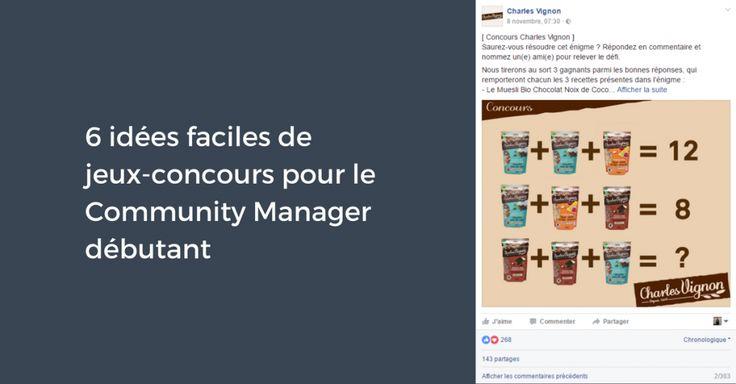 6 idées faciles de jeux-concours pour le Community Manager débutant | Institut Pellerin - Formation Community Manager