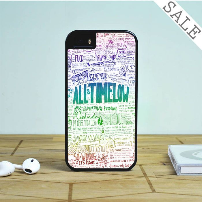 All Time Low Art Quotes For iPhone | Samsung Galaxy | HTC Case