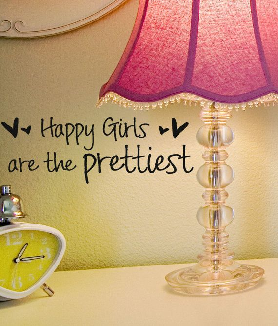 audrey hepburn quotes | Happy Girls are the Prettiest audrey hepburn vinyl wall decal words ...