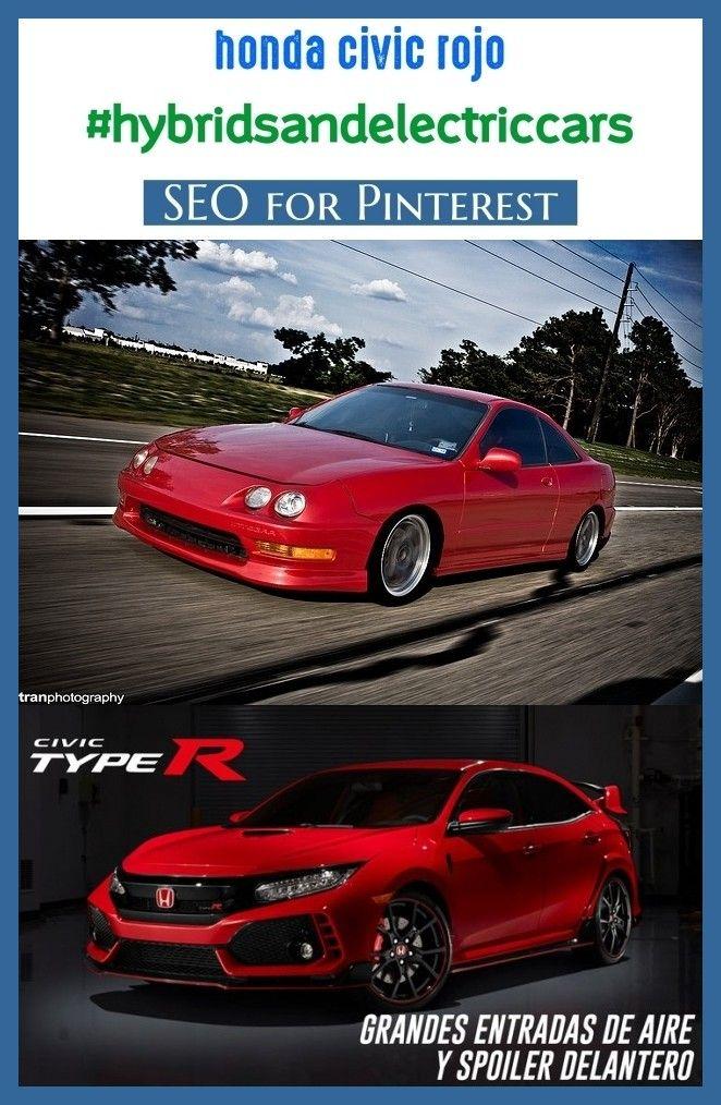 Honda civic rojo hybridsandelectriccars seo blog