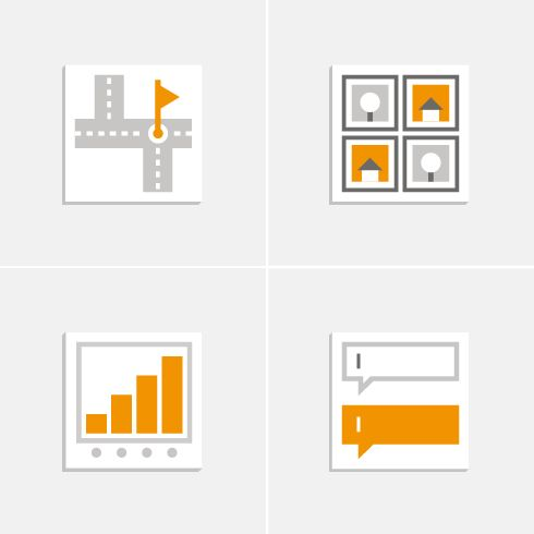 meinblick - Corporate Icons for SIMIGOS / Professional Website Builder #Icon #Design #meinblick #agency #graphic #creative #website #webhelp #partner #info