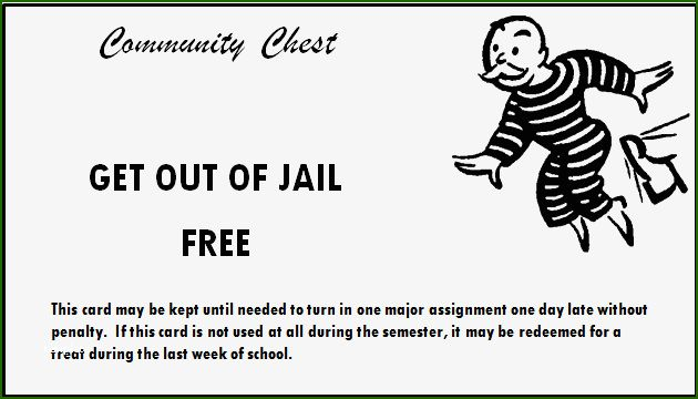 12 Prodigious Get Out Of Jail Free Card Template To Try Out Card Templates Free Card Template Cards