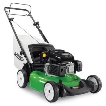 how to start a mower with old gas