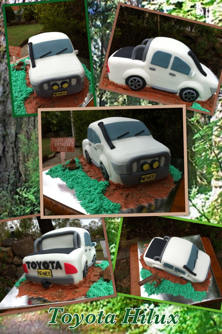 4 wheel drive cake