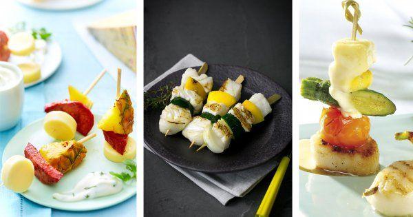 Il existe de nombreuses recettes de brochettes. Mais comment bien les préparer et quels ingrédients utiliser? C'est tout simple, sélectionnez d'abord votre viande, bœuf, poulet, canard, le choix est large. Ajoutez ensuite plein de légumes croquants ou à la vapeur. Pour la cuisson, il n'y a pas que le barbecue! Pensez aussi à la poêle et même au micro-onde. Voici les meilleures recettes pour réaliser des brochettes originales par ici!