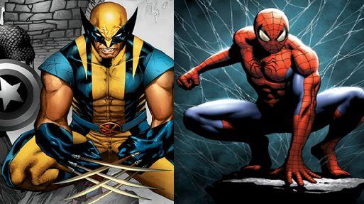 Wolverine vs Spiderman fight- who will win?