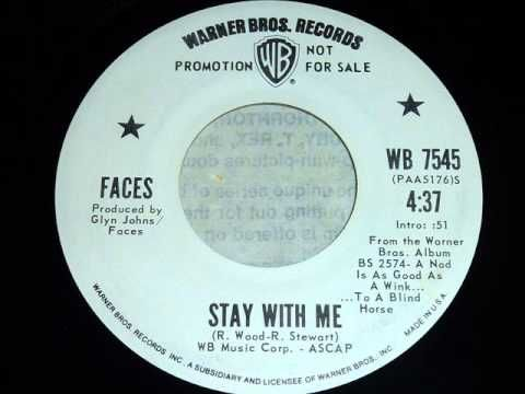 ▶ Faces - Stay With Me 45rpm - YouTube