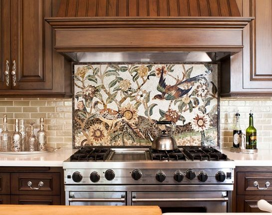 Stone Tile Backsplash Ideas   ... backsplash tile . Check out the following ways to successfully update