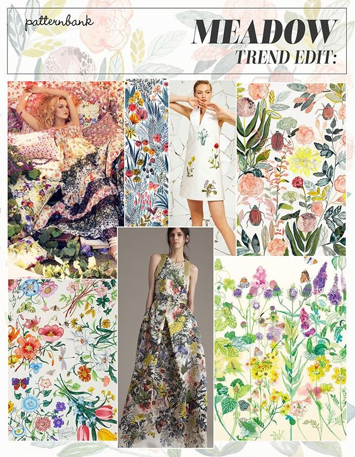 S/S 2016 – WILD FLORAL MIXING / BOTANICAL STUDIES / WATERCOLOUR DETAIL / MINUTE FLOWERS / FLORAL BOUQUETS / ROMANTIC STYLING