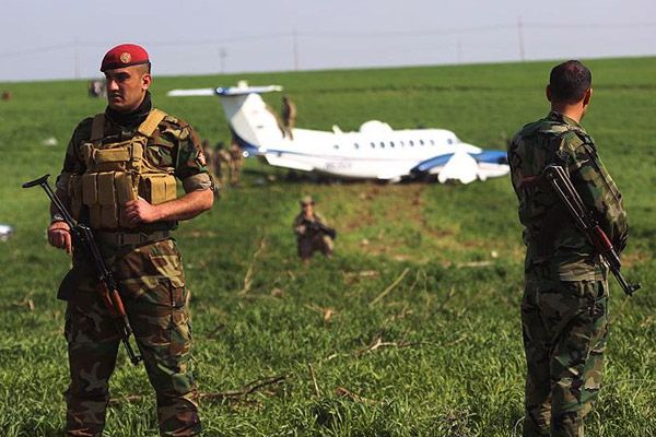 ABD'ye ait askeri uçak Erbil'e zorunlu indi